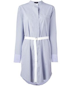 Theory | Jodalee Striped Shirtdress 6 Cotton