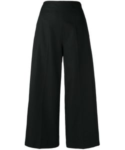 MSGM | Wide Leg Cropped Trousers