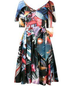 Moschino | Платье С Космическим Принтом