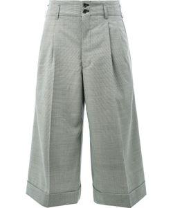 Comme Des Garcons | Comme Des Garçons Cropped Wide Leg Trousers Size Large