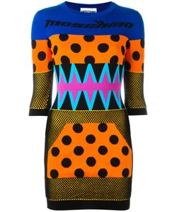 Moschino | Patchwork Effect Knitted Dress Size 44