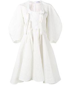 J.W. Anderson   Платье С Объемными Рукавами