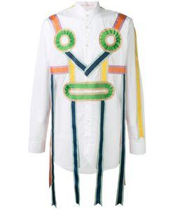 WALTER VAN BEIRENDONCK VINTAGE | Walter Van Beirendonck Ribbon Applique Shirt Size Medium