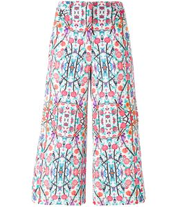 Miahatami | Printed Cropped Trousers 38