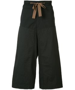 ZIGGY CHEN | Cropped Wide-Leg Trousers 52 Cotton