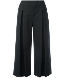 P.A.R.O.S.H. | Pleated Cropped Trousers Xs Cotton