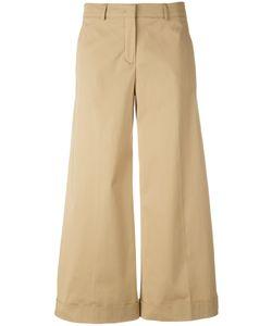 Loro Piana | Cropped Palazzo Trousers Size 40