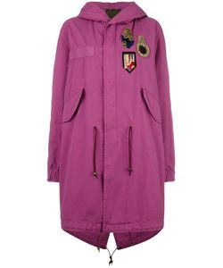 MR & MRS Italy | Patch Hooded Coat Small