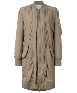 Erika Cavallini | Midi Bomber Coat Size 38