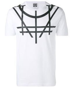 Les Hommes Urban | Printed T-Shirt