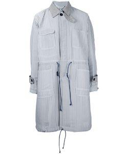Sacai | Пальто В Полоску Hickory