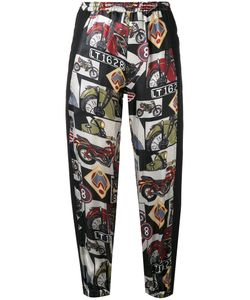 Hache | Printed Cropped Trousers Size 40