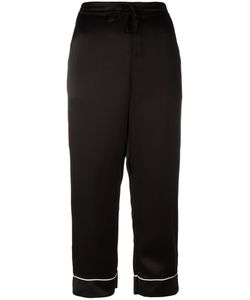 P.A.R.O.S.H. | Cropped Trousers Medium Silk