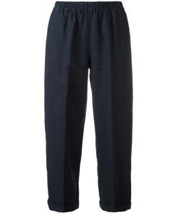 Forte Forte | Straight Cropped Trousers 2 Linen/Flax/Cotton