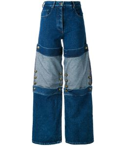 Y / PROJECT | Panelled Wide Leg Jeans