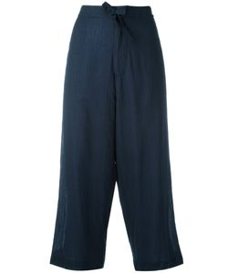 Y'S | Cropped Wide-Leg Trousers