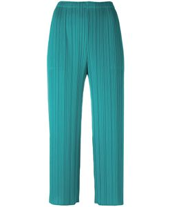 PLEATS PLEASE BY ISSEY MIYAKE | Pleated Cropped Trousers 4