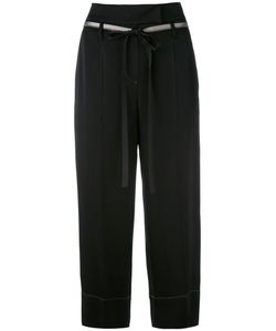 Brunello Cucinelli | Cropped Trousers 40 Acetate/Viscose/Polyester