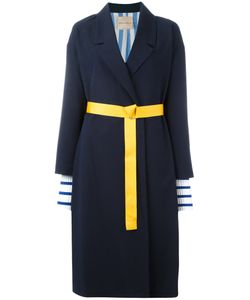 Erika Cavallini | Oversized Midi Coat 40 Cotton/Virgin Wool/Acetate