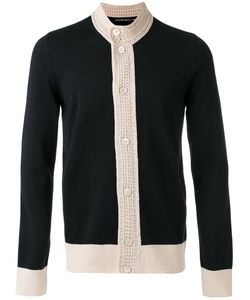Alexander McQueen | Contrast Knitted Cardigan Size Large