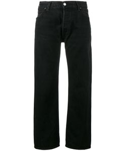 Re/Done | High-Rise Cropped Straight-Leg Jeans Women