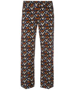 Aspesi | Tile Print Cropped Trousers
