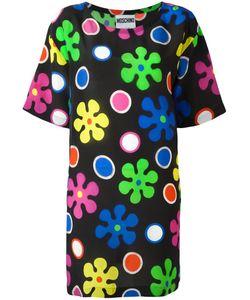 Moschino | Flower Power Dress 38 Silk