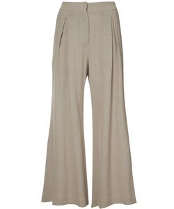 DUSAN | Flared Cropped Trousers 42