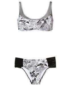 AMIR SLAMA | Panelled Bikini Set P Elastodiene