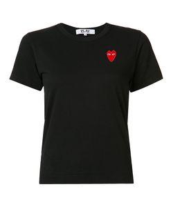 Comme des Gar ons Play | Comme Des Garçons Play Embroide Heart T-Shirt Womens Size Medium