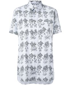 Comme Des Garcons | Comme Des Garçons Shirt Printed Short Sleeve Shirt