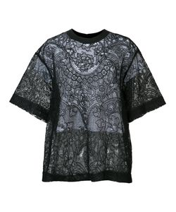 Vera Wang | Laye Lace Top 0 Cork/Silk/Nylon