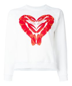 Peter Jensen | Lobster Heart Print Sweatshirt Medium Cotton