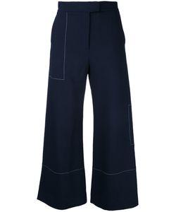 STUDIO NICHOLSON | Wide Leg Trousers 0 Spandex/Elastane/Viscose/Virgin Wool