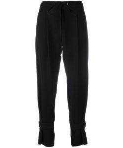 Jil Sander Navy | Cropped Pants 36 Polyester