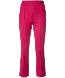 Veronica Beard | Vaughn Cropped Flare Trousers Women Polyester/Spandex/Elastane/Virgin