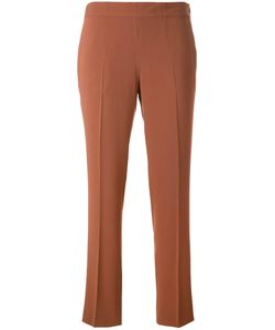 Alberto Biani | Cropped Trousers 42 Polyester/Triacetate