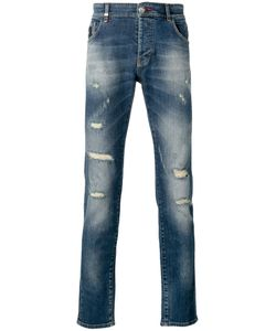 Philipp Plein | Distressed Slim Fit Jeans Size 33
