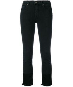 Paige | Raw Hem Cropped Jeans Size 24