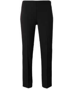 Blumarine | Slim-Fit Cropped Trousers 46 Polyester/Spandex/Elastane