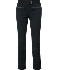Veronica Beard | Zipped Pocket Cropped Trousers 6 Polyester/Spandex/Elastane/Viscose