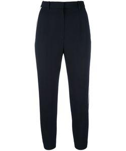 Alexander McQueen | Contrast Stripe Trousers 40 Wool/Silk/Polyester/Cupro