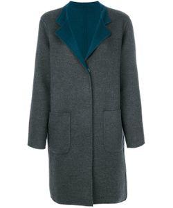 Manzoni 24 | Contrast Lapel Coat