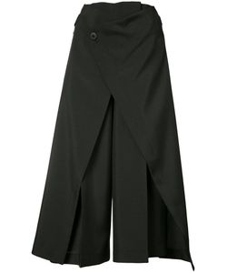 132 5. ISSEY MIYAKE | Pleated Details Cropped Trousers