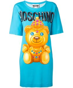 Moschino | Bear Print T-Shirt Dress 38 Rayon/Other Fibers
