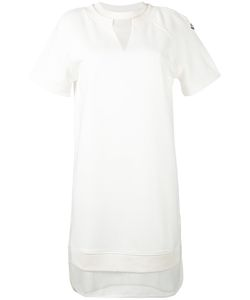 Moncler | Short Sleeve Sheer Layer Dress
