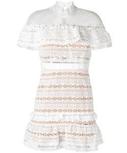 SELF-PORTRAIT   Lace-Detail Dress 10