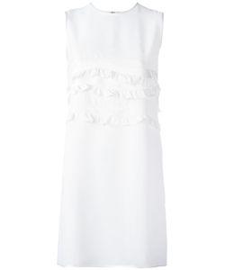 Victoria, Victoria Beckham | Victoria Victoria Beckham Ruffle Detail Shift Dress 8