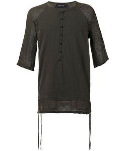 ANDREA YA'AQOV | Paneled T-Shirt Size Small