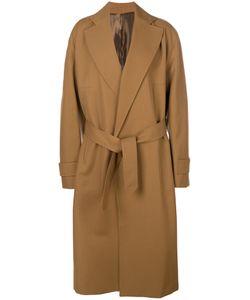 Wooyoungmi | Пальто С Завязками На Поясе